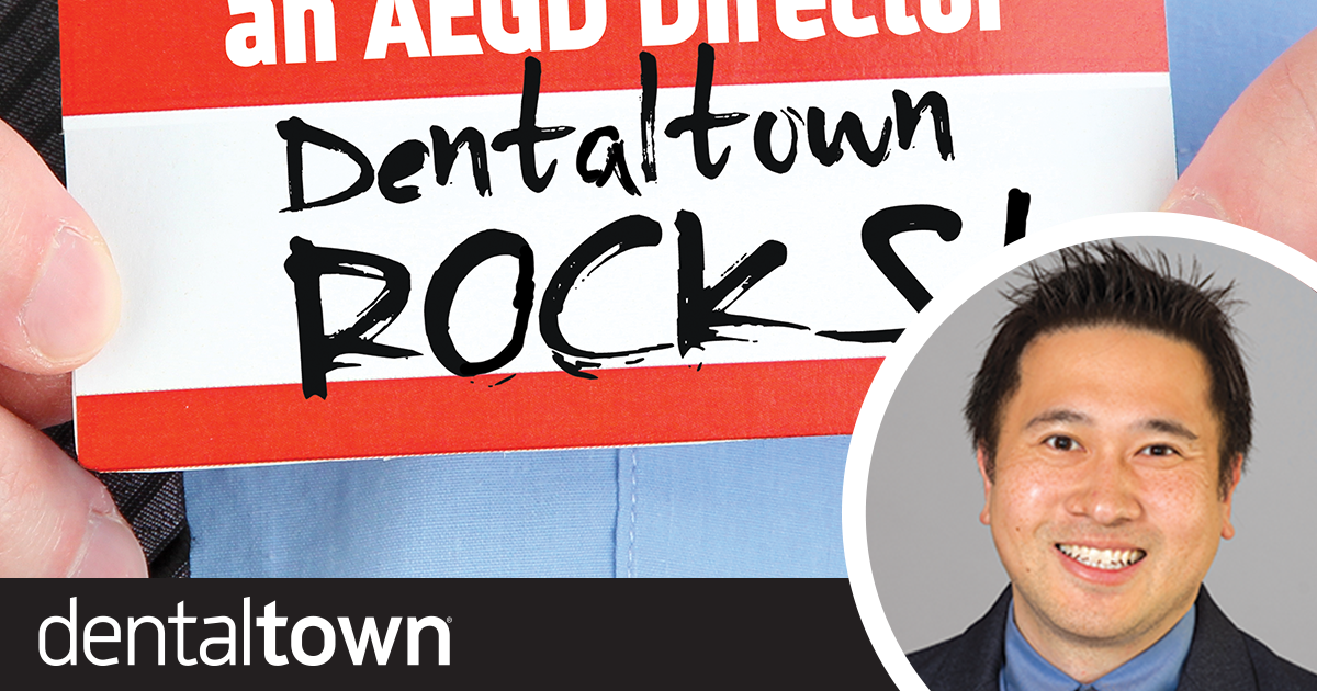 Take It From an AEGD Director: Dentaltown Rocks!  Dr. Gordon Lai, site director for the USCF/NYU Langone AEGD program, discusses how Dentaltown courses and message boards are incorporated into his training to teach residents about occlusion, endodontics, prosthodontics and more.