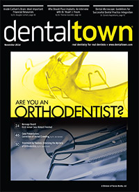 Dentaltown Magazine November 2014