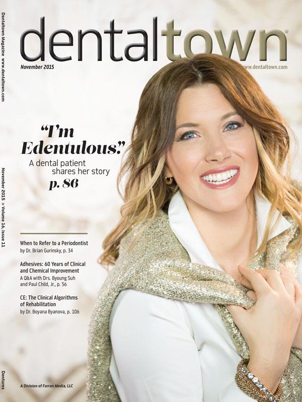 Dentaltown Magazine November 2015