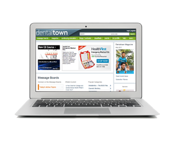 On Dentaltown.com Visit dentaltown.com for an ongoing conversation about everything from tough cases to staff issues to what team is going to win the World Series this year. Join the discussion!