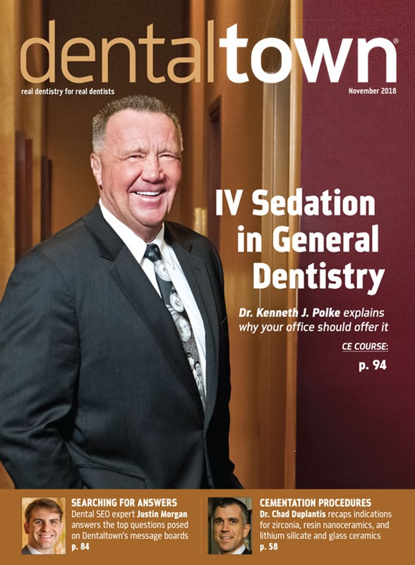 Dentaltown Magazine November 2018