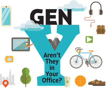 Gen Y (Aren't They In Your Office?) A millennial researcher explains how to respect her generation's quirks and characteristics, and how to connect with these potential patients.