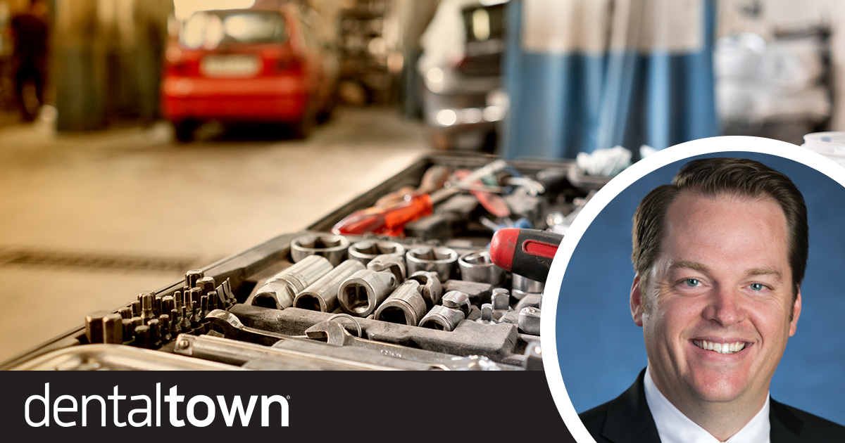 Professional Courtesy: Three Meals or 100,000 Smiles Dr. Thomas Giacobbi, Dentaltown's editorial director, shares lessons in dentistry he learned in an unlikely place—the auto shop.