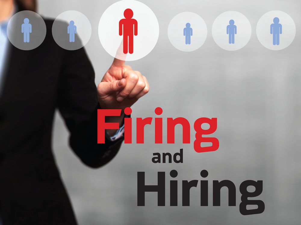 Firing and Hiring