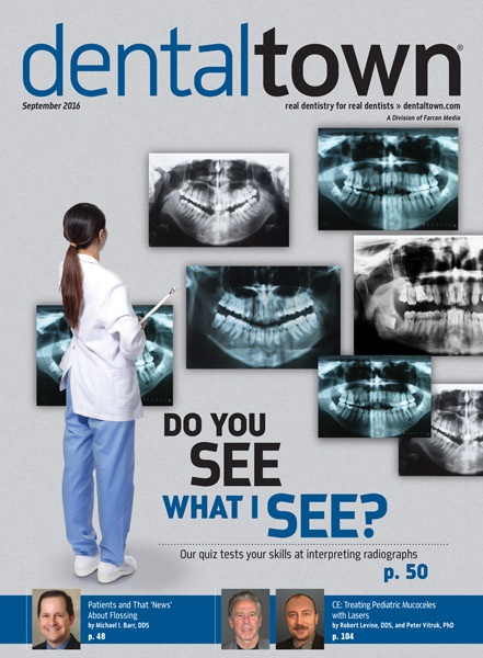 Dentaltown Magazine September 2016