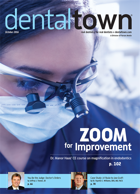 Dentaltown Magazine October 2016