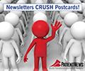 Newsletters CRUSH Postcards!