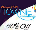 50% Off Townie Meeting