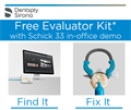 Schick by Sirona Get a free Evaluator Kit...