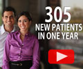 305 New Patients in 1 Year!