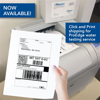 "ProEdge Dental Products Announces Availability of ""Click and Print"" Shipping Option"