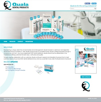 Quala Dental Products Announces Updated Website Launch