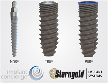 Sterngold Announces Partnership with Implant Concierge