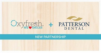Oxyfresh Partners with Patterson Dental