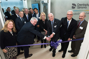 Ribbon Cutting Ceremony Celebrates Opening of Dentsply Sirona Endodontic Suite at NYU Dentistry