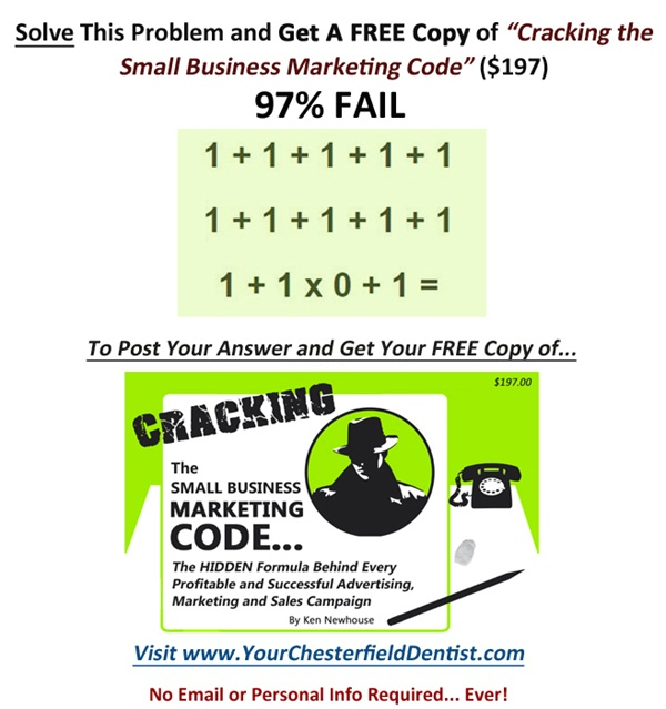 Visit Ken Newhouse & Co for your FREE Copy of 'Cracking the Small Business Marketing Code'
