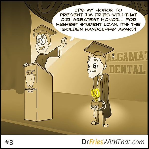 the worst dental award you can win