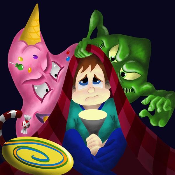 Mighty MolarMan, Candy Man, Bacteria Boy