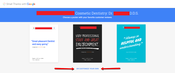 How Dentists Say Thank You with Google Reviews