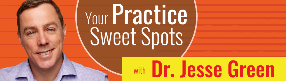 Your Practice Sweet Spots with Dr. Jesse Green